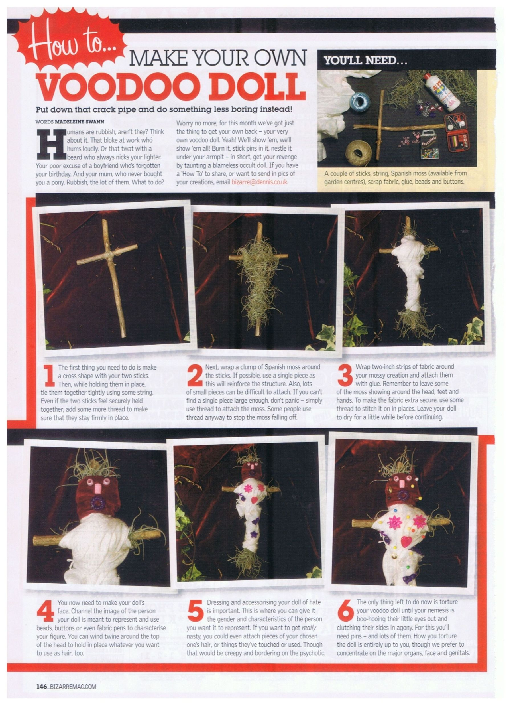 Voodoo Doll Article