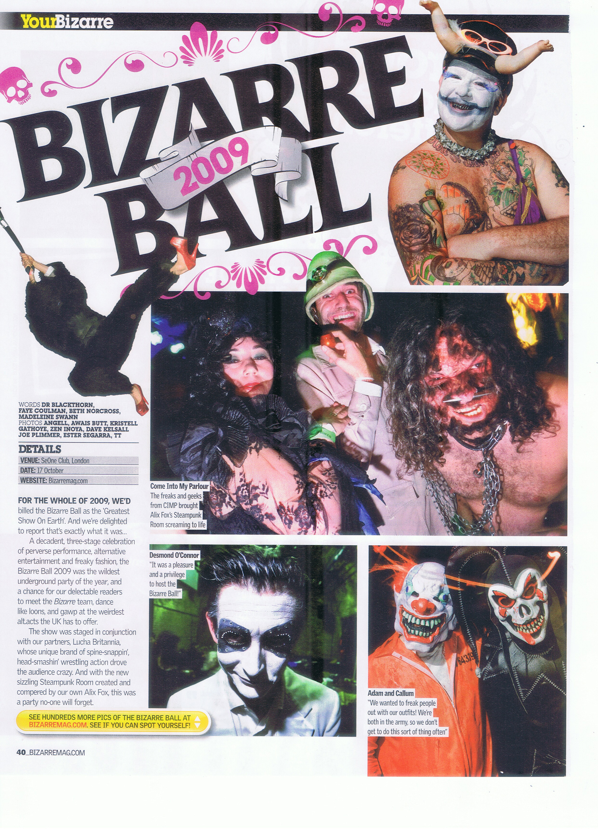 Bizzarre ball 1